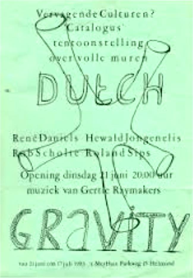Uitnodiging Dutch gravity