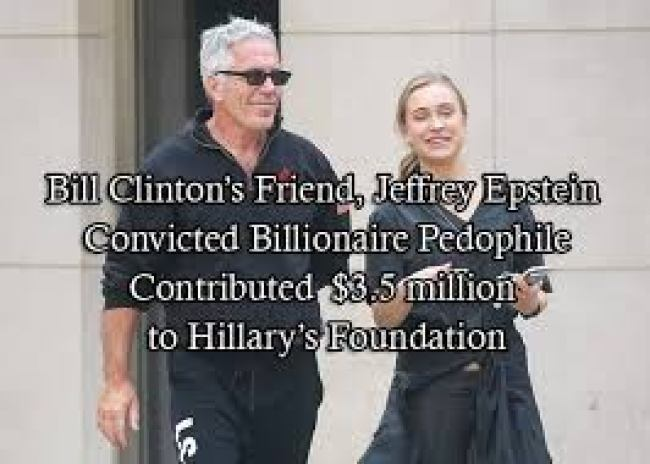 Contributed 3.5 million dollar to Clinton Foundation (foto Before It's News)