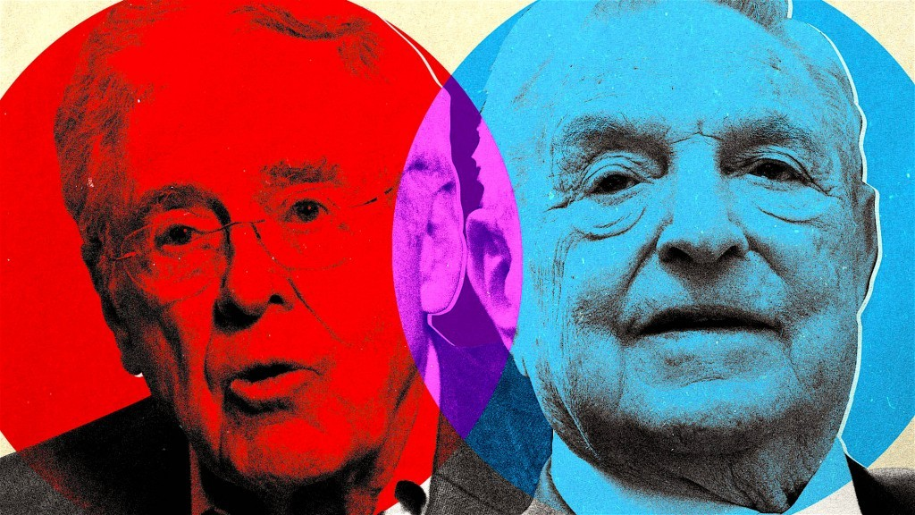 Koch and Soros Funding New 'Anti-War' Think Tank (foto The Daily Beast)