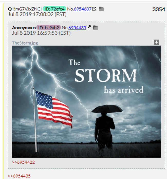 The STORM has arrived (foto Before It's News)