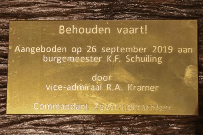 Afscheid burgemeester Koen Schuiling (foto's Ad Bak)