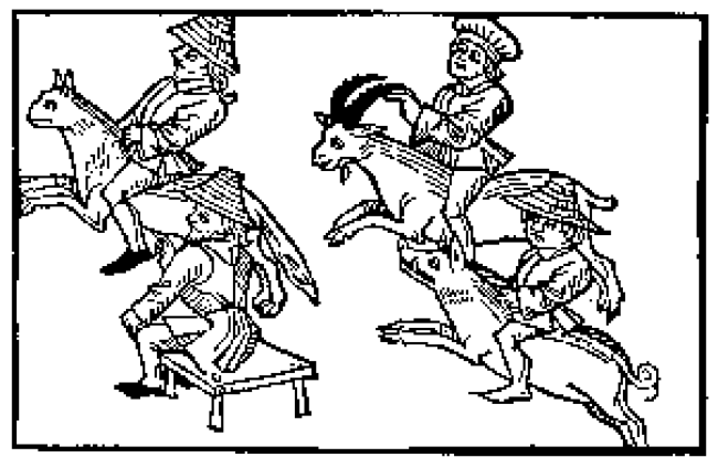 Anonieme houtsnede uit Hans Vintler, Buch der Tugend