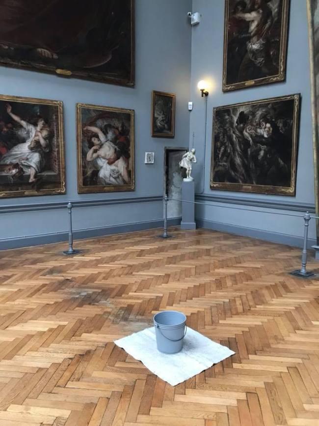 Antoine Wiertz Museum met tijdelijk een James Lee Bryars (foto Facebook)