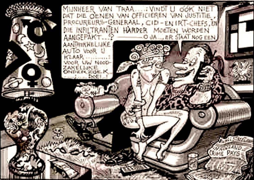 Opland – Mijnheer van Traa… (foto Internationaal Instituut voor Sociale Geschiedenis)