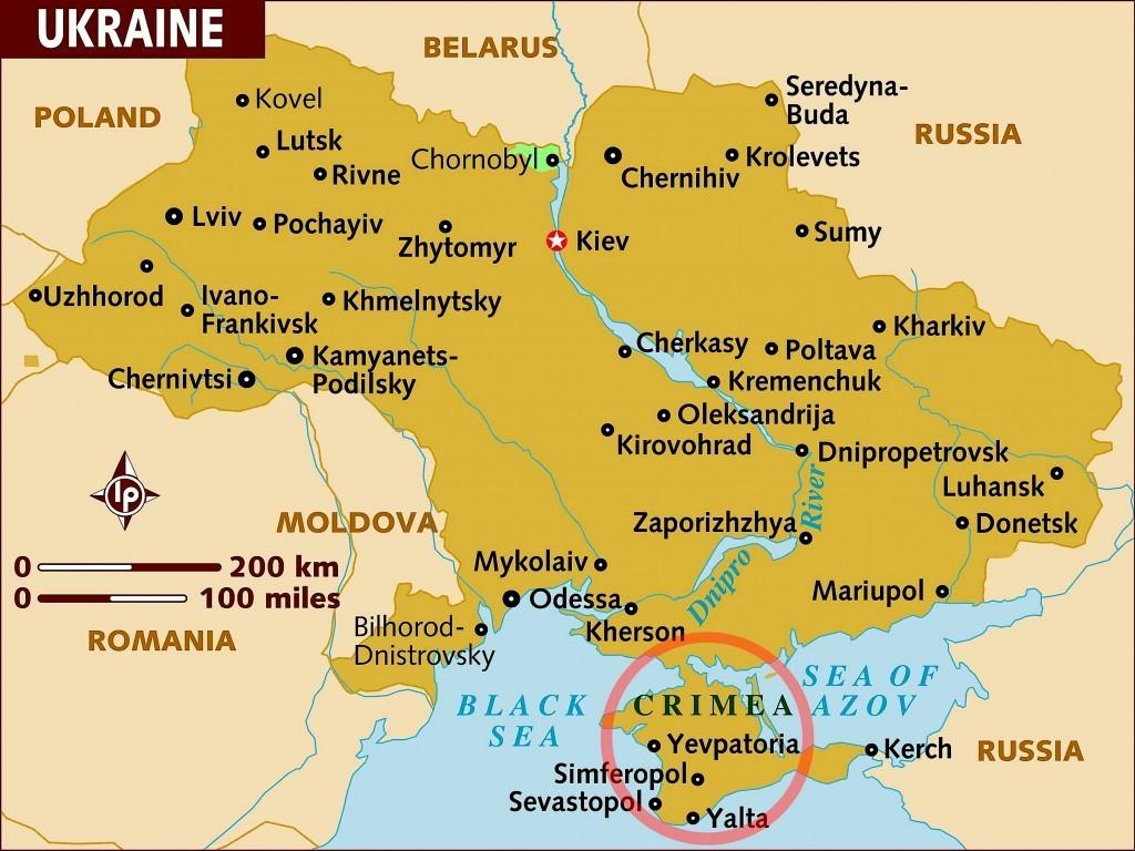 It's 'Ukraine,' not 'the Ukraine,'' a grammatical error with serious geopolitical implications (foto medium.com | K Street)
