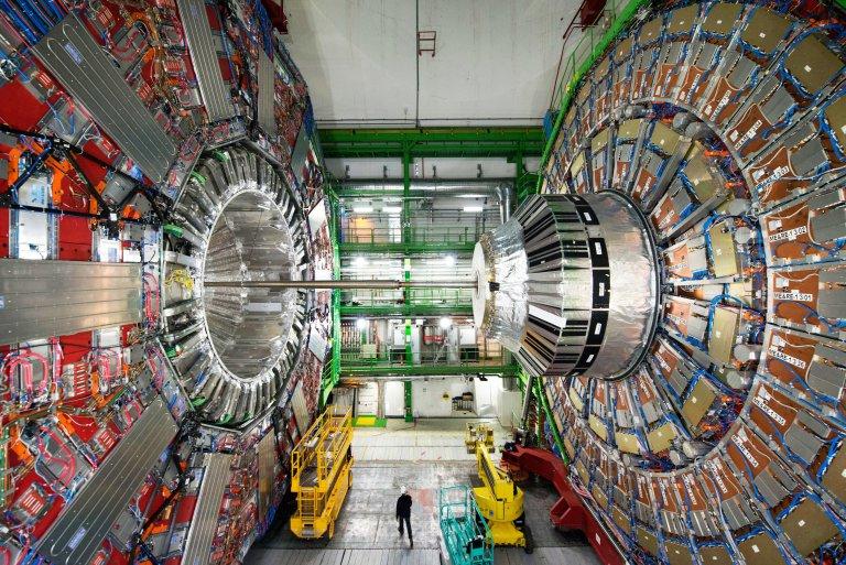 Onderzoek naar de samenstelling van kwantum-deeltjes (foto Slotvan)