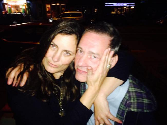 Ex compagnon van Micky Hoogendijk Anne Steenkamp met John Studulski (foto Facebook)