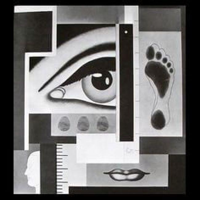 Gerald Murphy - Portrait (1928, destroyed, foto Pinterest)