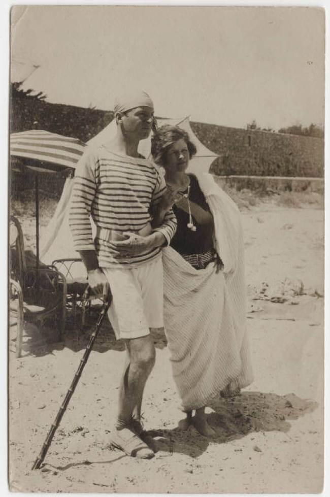 Gerald and Sara Murphy (foto Mark Cross)