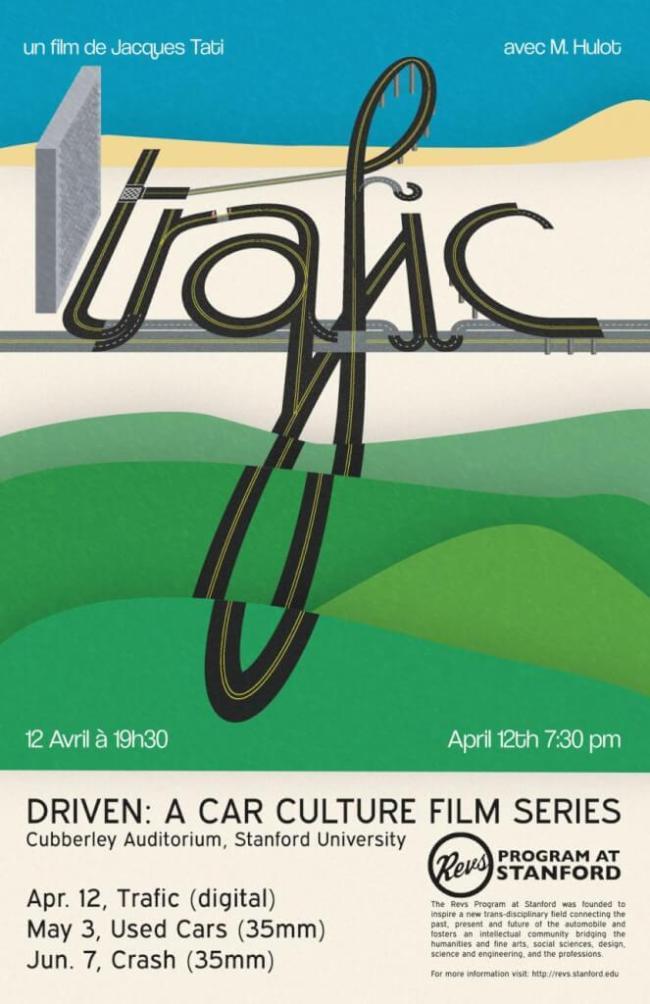 Jacques Tati - Trafic (foto Revs Program at Stanford)