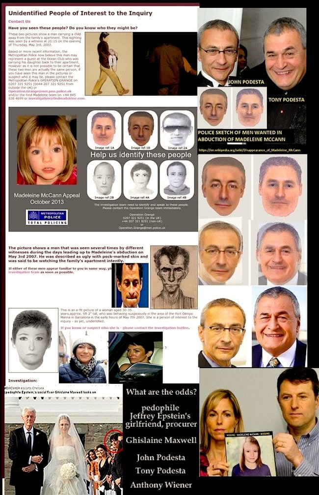Unidentified People of Interest to the Inquiry (foto Reddit)