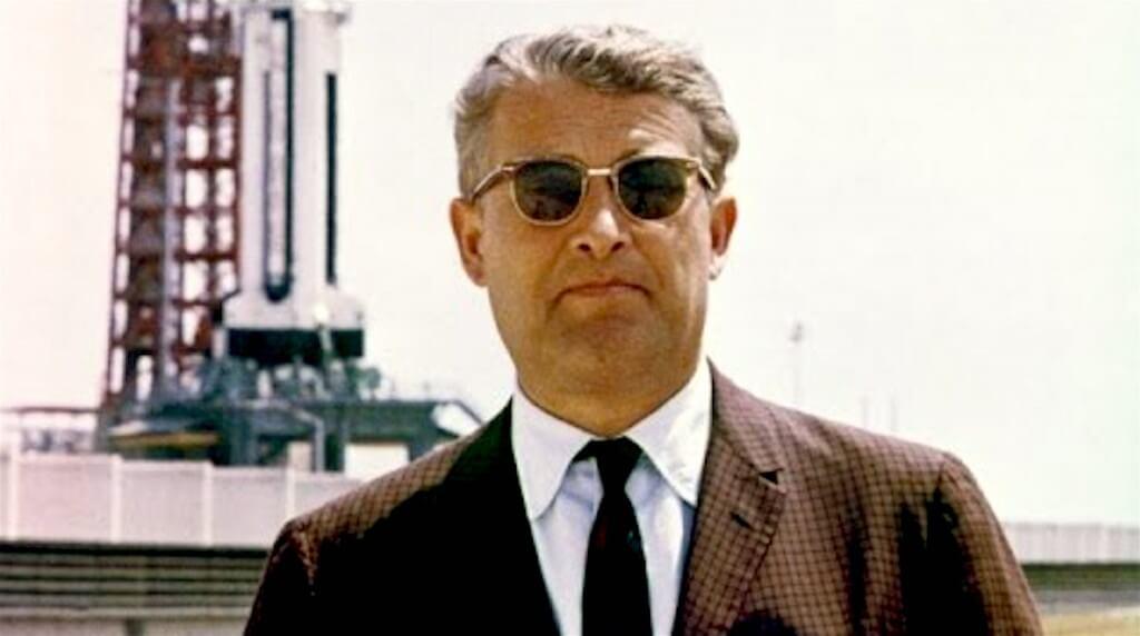 Wernher von Braun (foto YouTube)