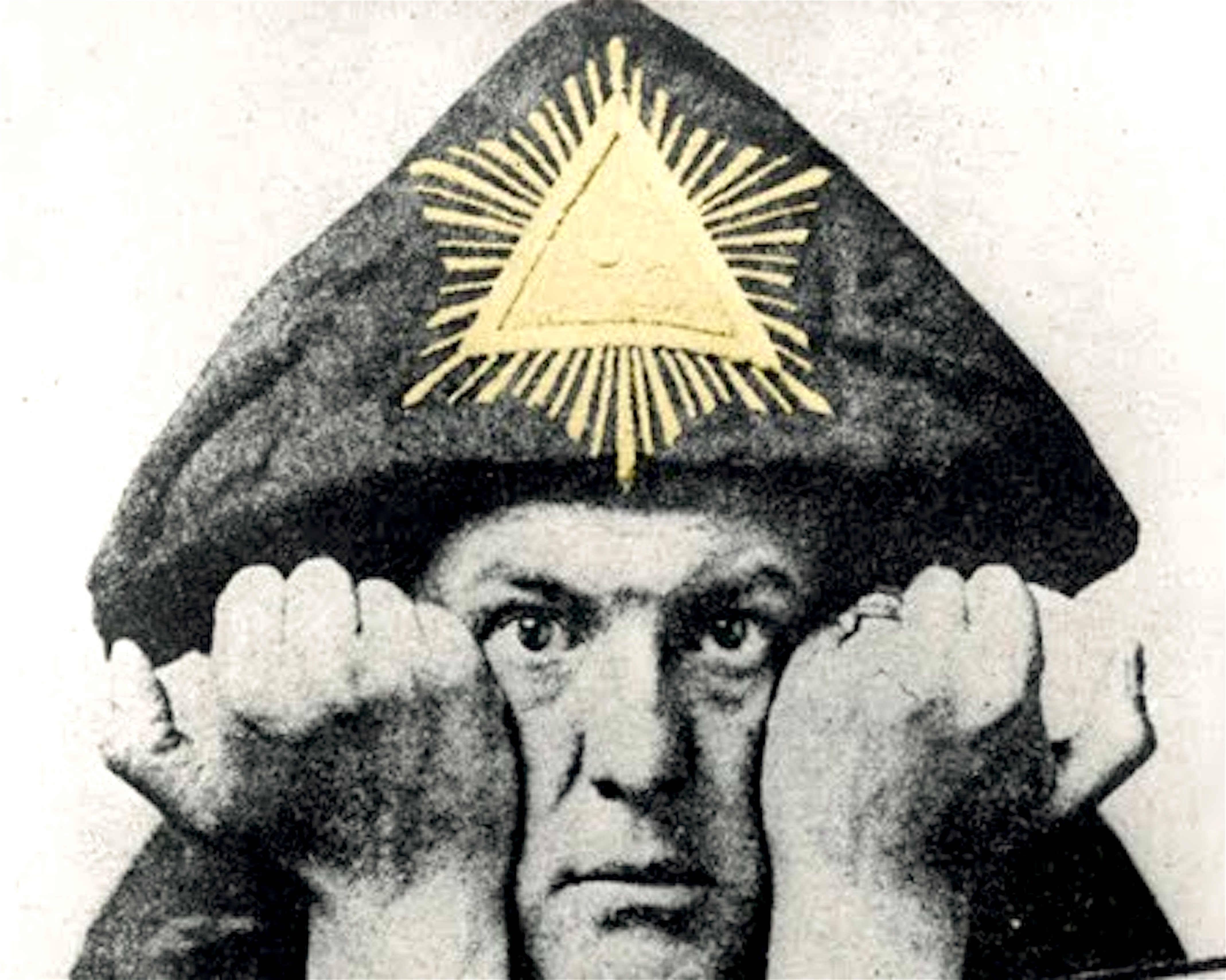 Aleister Crowley (foto YouTube)