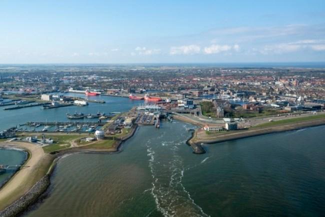 Den Helder, het project Helders Perspectief moet de stad in het land op de kaart zetten (foto Peter van Aalst)