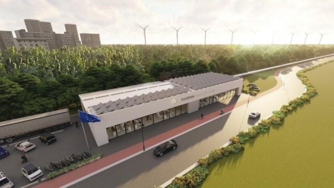 European Hyperloop Center (foto Hardt Hyperloop)
