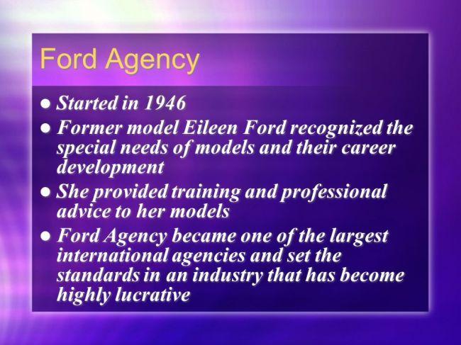 Ford Agency (foto SlidePlayer)