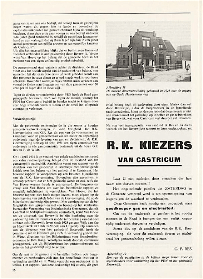 Jaarboek Oud Castricum   1 november 1991   pagina 16