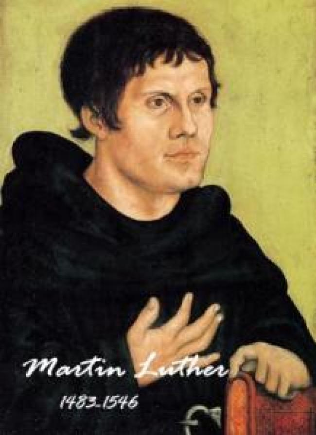 Martin Luther 1483-1546 (foto The Tap)
