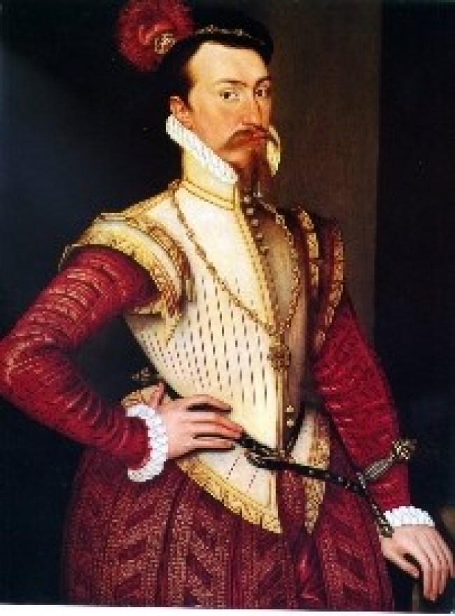 Robert Dudley 1532-1588