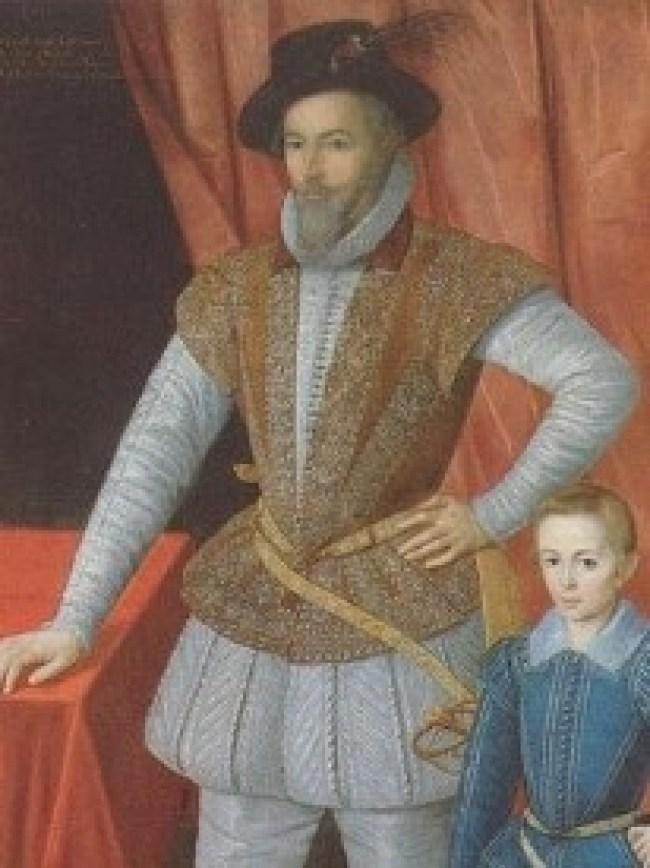 Walter Raleigh 1554-1618