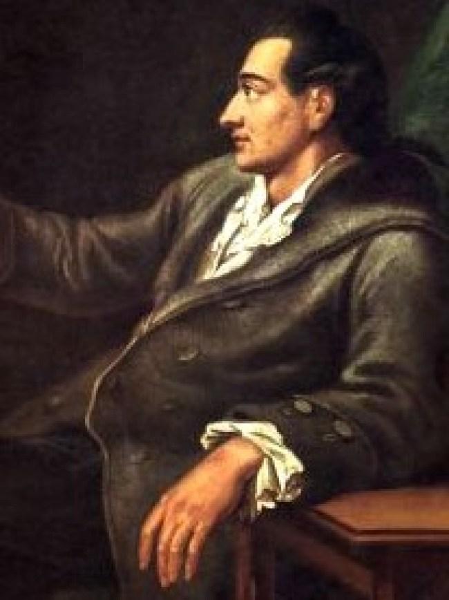 Wolfgang von Goethe 1749-1832