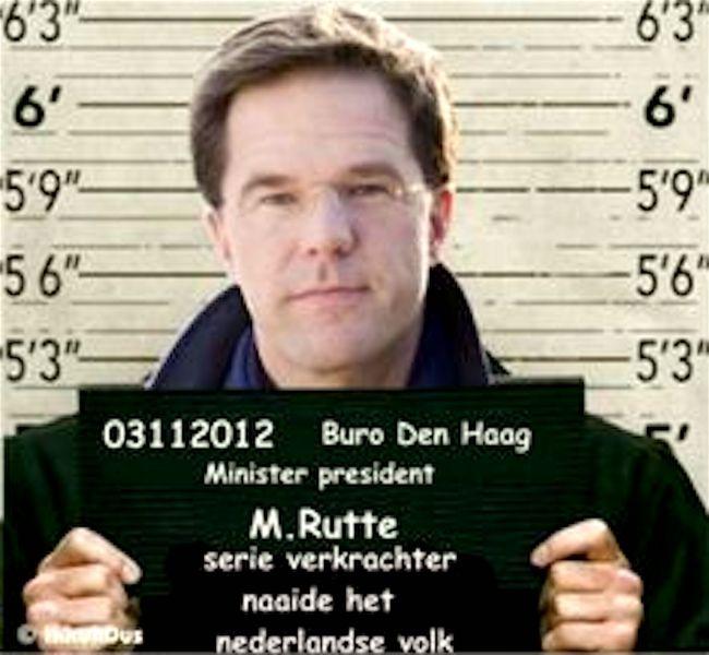 03112012 Buro Den Haag M Rutte serie verkrachter naaide het Nederlandse volk (foto Pinterest)