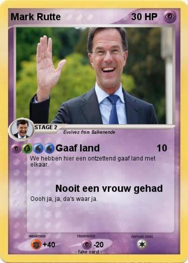 Gaaf land (foto My Pokemon card)