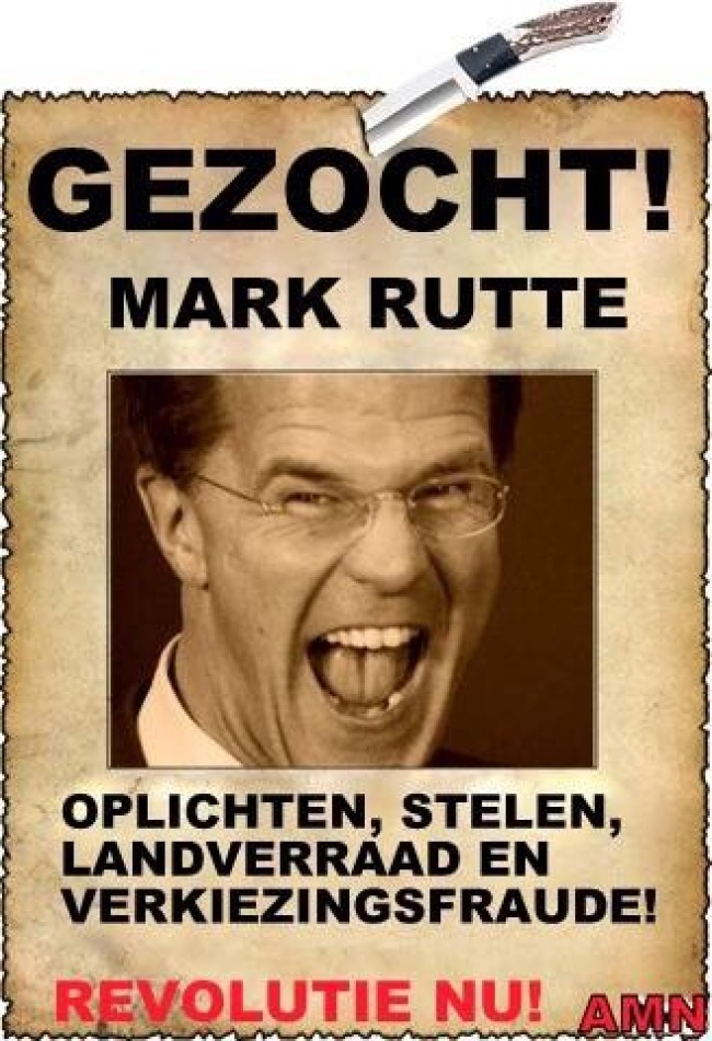 Gezocht! MARK RUTTE (foto Facebook)