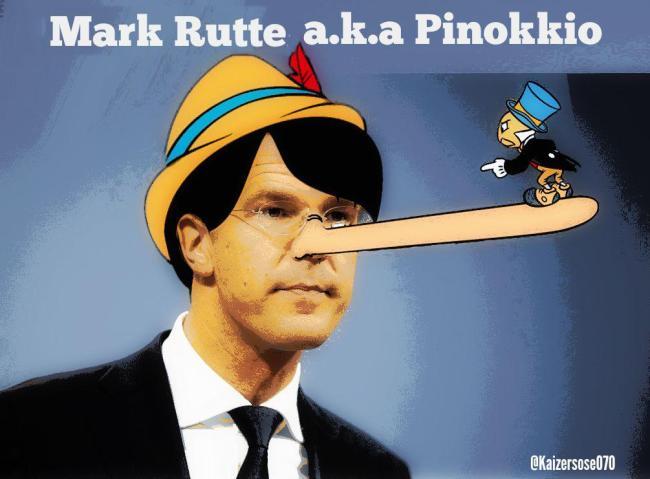Mark Rutte AKA Pinokkio (foto Kaizersose070)