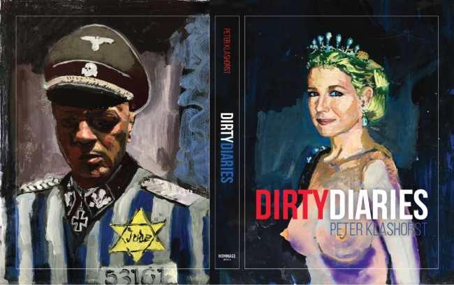 Masturbating Maxima cover van Dirty Diaries (foto Facebook)