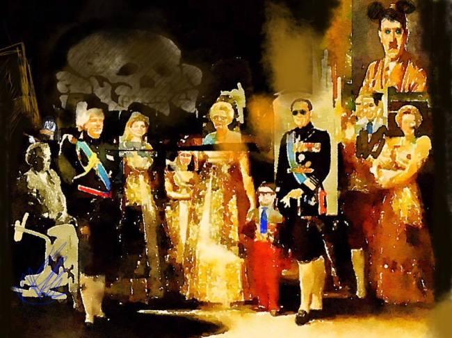 Peter Klashorst - Koninklijke familie