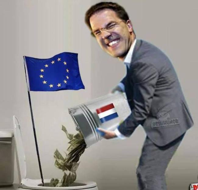 PinEUkio lacht Nederland uit (foto JDReport.com)