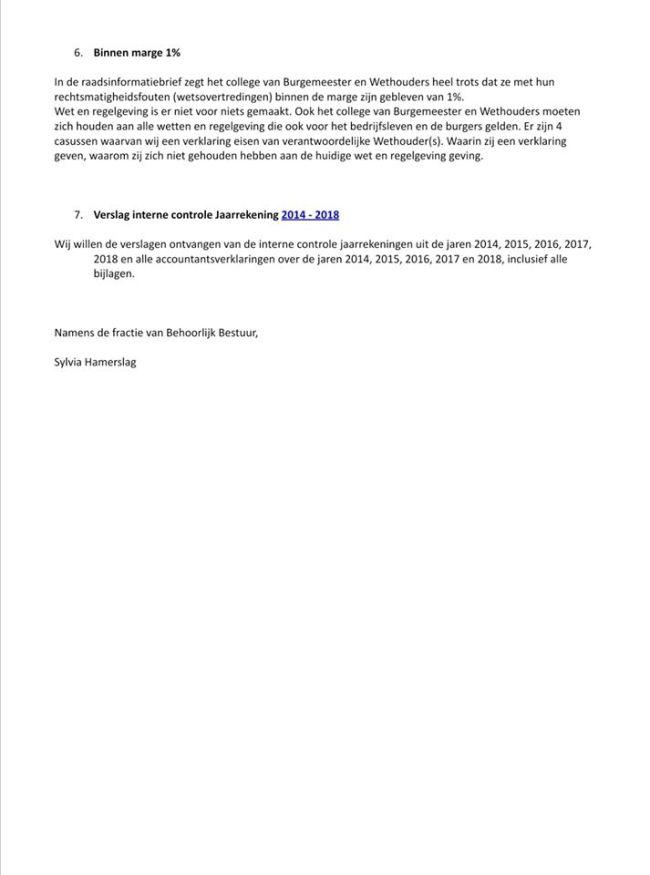 Raadsvragen Behoorlijk Bestuur over de jaarrekening 2019 (4)