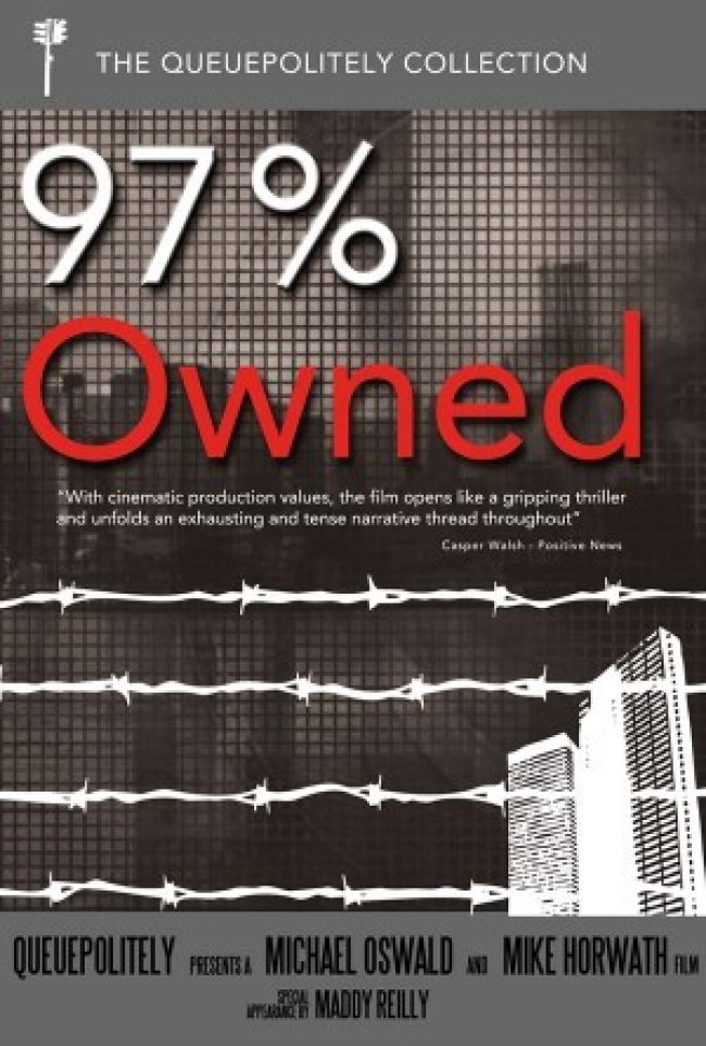 97 Percent Owned DVD Cover (foto Independent POV)
