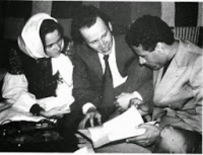 David Berg & Muammar Qaddafi (foto Aangirfan)