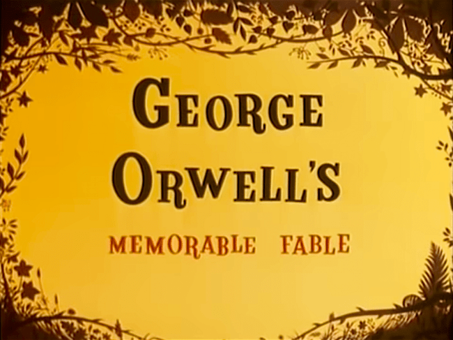 George Orwell's Memorable Fable (foto YouTube)