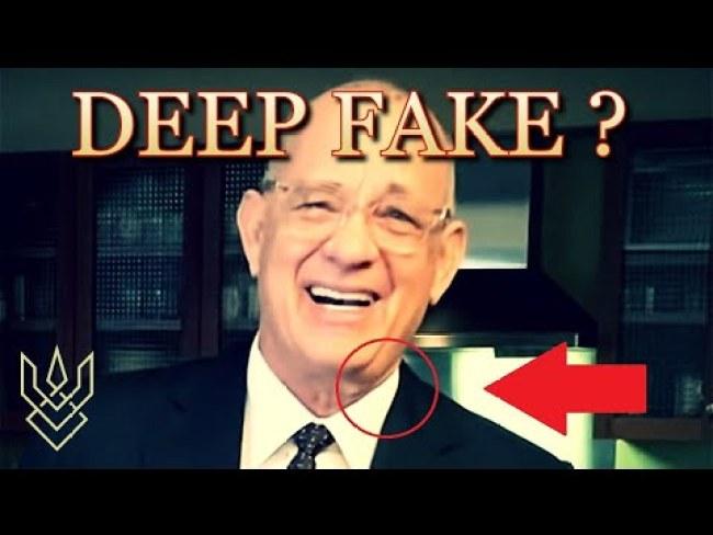 Is TOM HANKS A Deep Fake | DEAD Or ALIVE? (foto YouTube)