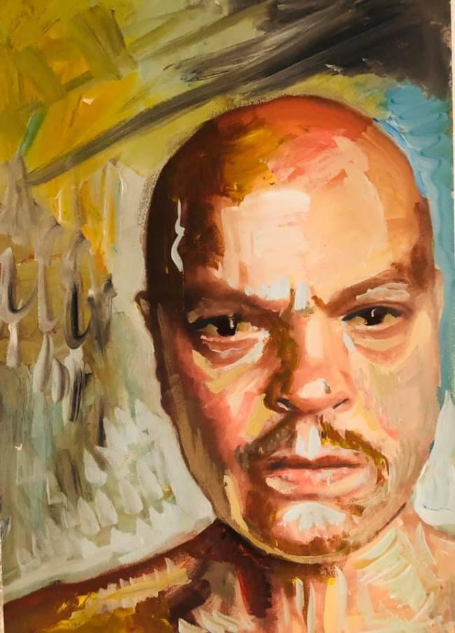 Peter Klashorst - Self Portrait (1)