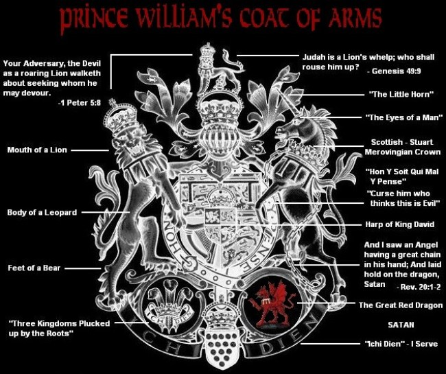Prins William Coat of arms (foto 4plebs)