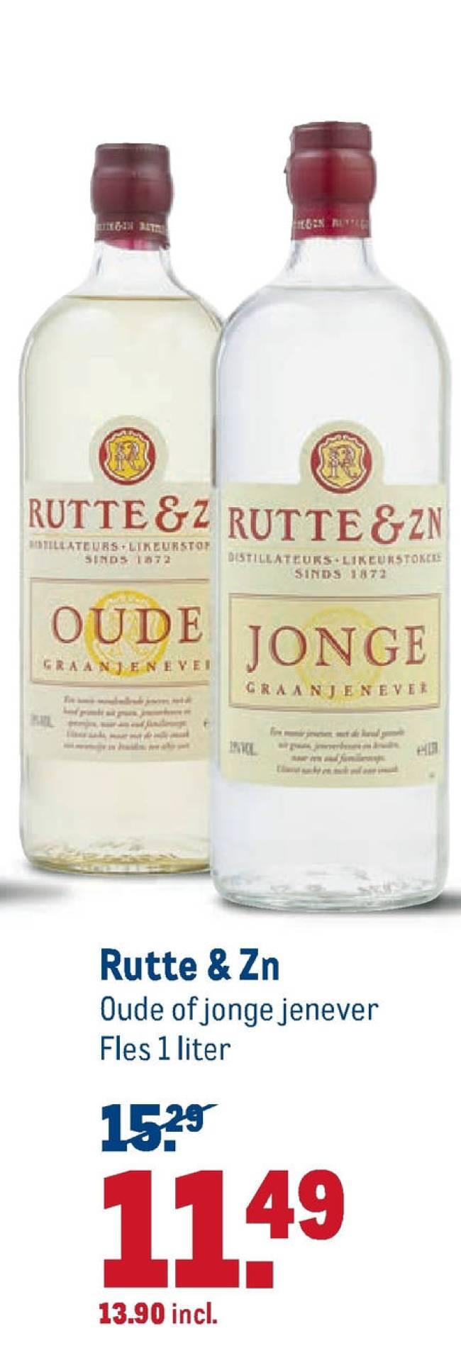 Rutte & Zn Oude of Jonge jenever (1) (foto Voordeelmuis)