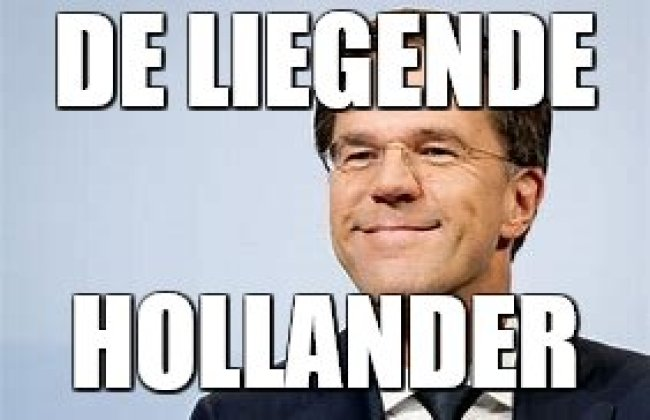 De liegende Hollander (foto Twitter)