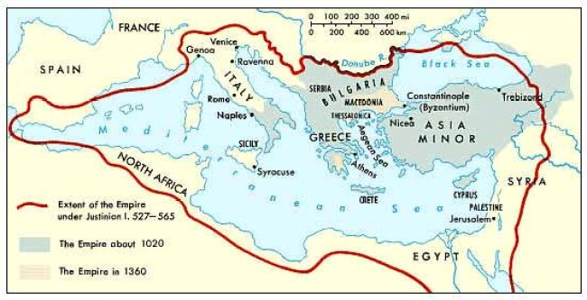 Development of the Empire (foto Byzantium Links Mrs Conelly S History Class)