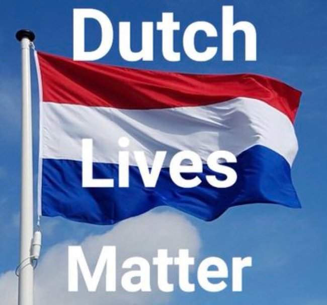 Dutch Lives Matter (foto Twitter)