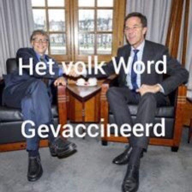 Gevaccineerd (foto Twitter)
