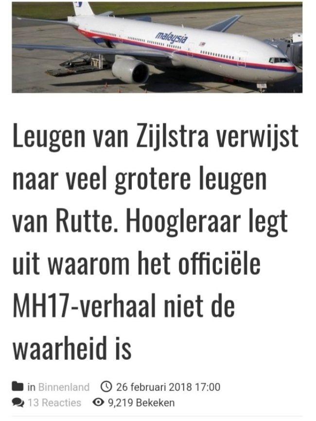 Leugen van Zijlstra verwijst naar veel grotere leugen van Rutte (foto Yoors)