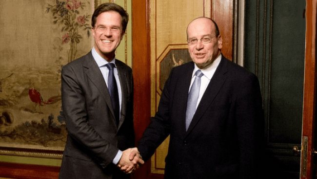 Mark Rutte & Fred Teeven (foto Facebook)
