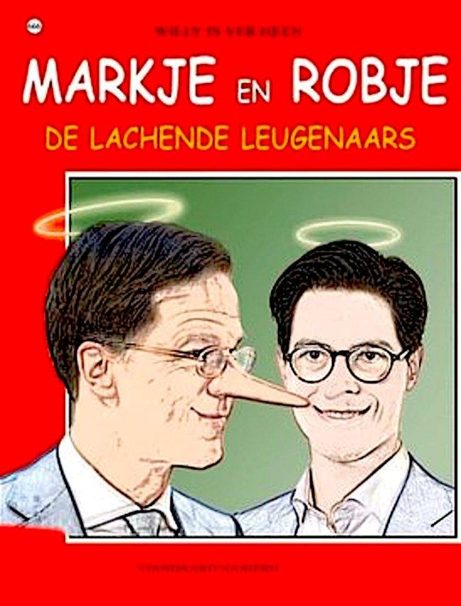Markje en Robje | De Lachende Leugenaars (foto Twitter)