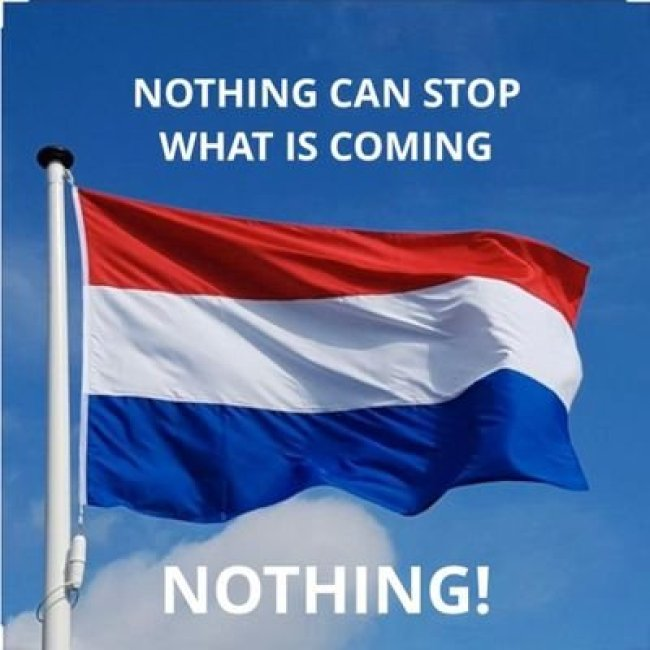 Nothing can stop what is coming | Nothing! (foto Twitter)