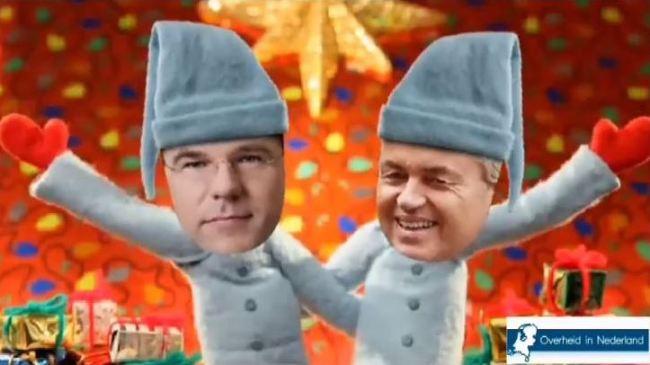 Rutte & Wilders (foto Toponderzoek)