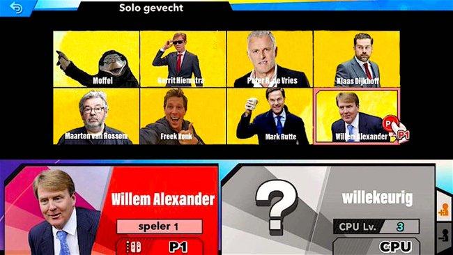 Solo gevecht (foto Dutchland Memes)